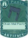 Chain mail pants