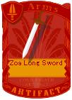 Zoa Long Sword2