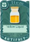 Yellow liquid