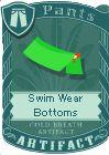 Swim wear bottoms