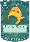 Bronze helmet 1