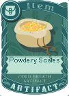 Powdery scales