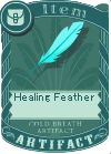 Healing feather