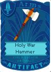 Holy War Hammer