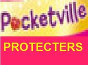 The pocketville protecters logo01