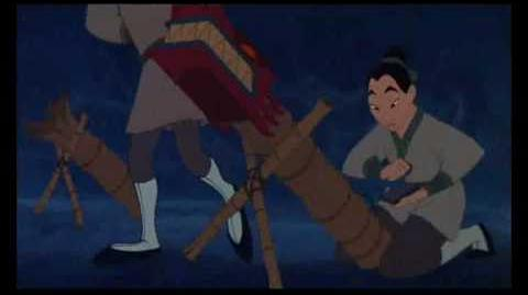 William's Theme Song- I'll Make a Man Out of You from Mulan