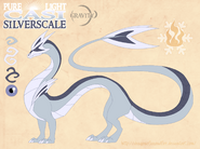 Pure lighcasi silverscale by dragonoficeandfire-d9lmvyr