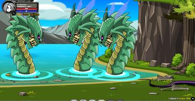 Hydra room Boss