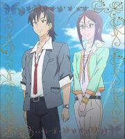 Kyoko meet jun's parents grave