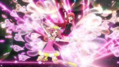 (HD) Pretty Rhythm Rainbow Live - EPISODE 38 - Naru & Beru「Little Wing & Beautiful Pride」