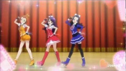 (HD) Pretty Rhythm Dear My Future - COSMOs - 「Cheer! Yeah!×2」 (episode 34)