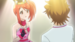 Shou gives aira his necklace