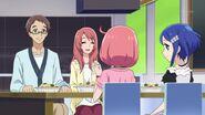 Naru and Rinne Eating Gratin