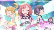 Happy rain prism live