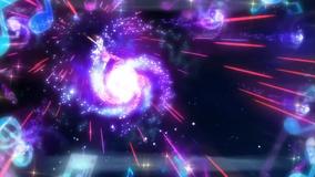 Galacticalgalaxyshower