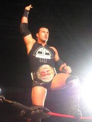 Kaz as champ
