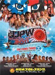 NJPW Invasion Tour 2011