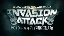 INVASION ATTACK 2013 Opening VTR