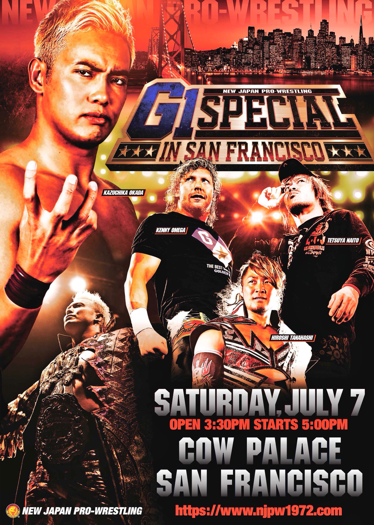 Post image of NJPW: G1 Special In San Fransico