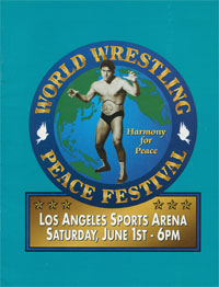 World Wrestling Peace Festival poster