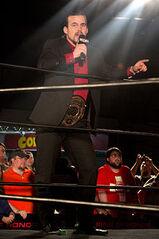 ROH World Champion Adam Cole January 2014