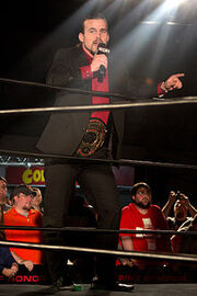 ROH World Champion Adam Cole January 2014