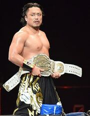 Hirooki Goto IWGP Intercontinental Champion