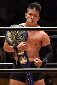 Risultati immagini per Kazuki Hashimoto Junior Heavyweight