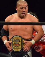Tomohiro Ishii ROH World Television Champion