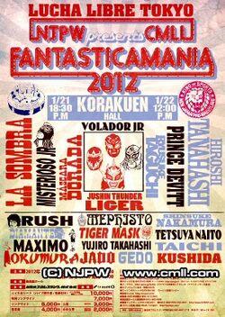Fantasticamania 2012