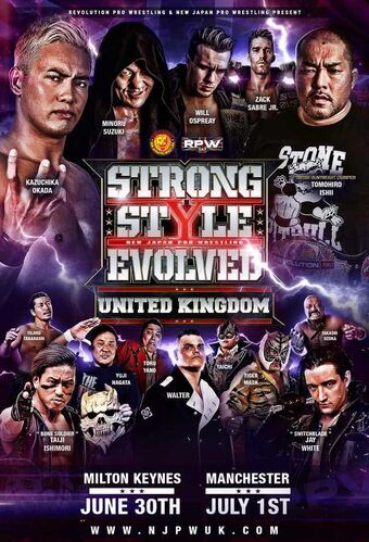 Strong Style Evolved UK | Puroresu System Wiki | FANDOM