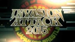 INVASION ATTACK 2015 Opening VTR