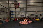 Rich Swann 450 splash