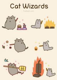 Cat wizards