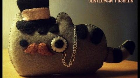 How To Make A Pusheen Cat Gentleman Plushie