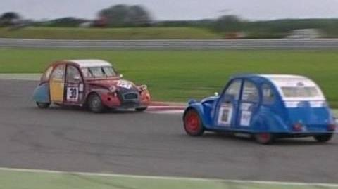 Low Budget Car Race For Citroen 2CV Enthusiasts