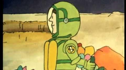 Mr Benn - Spaceman - E 12 14