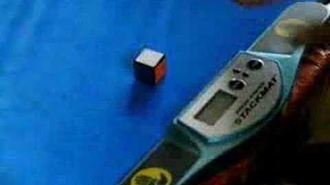 Rubik's cube solve in 0.13 seconds