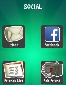 Social mainpage