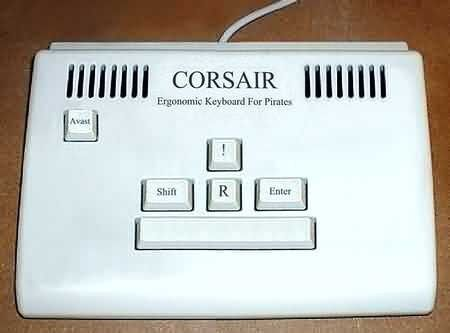 Normal pirate keyboard