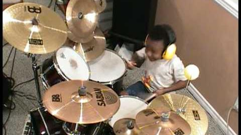 Blink 182 - All The Small Things, 4 Year Old Drummer, Jonah Rocks