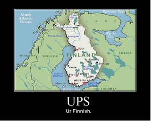 Ups ur Finnish