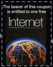 Internets coupon