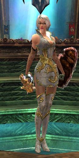 Mesmer Elite Canthan armor f white