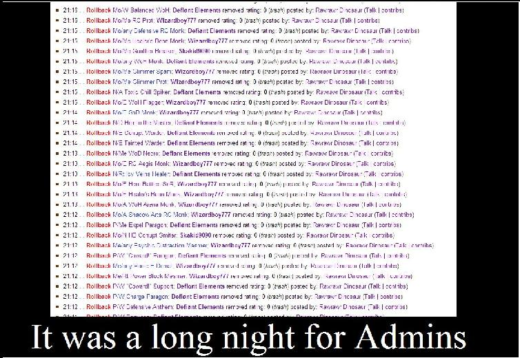 Long admin night