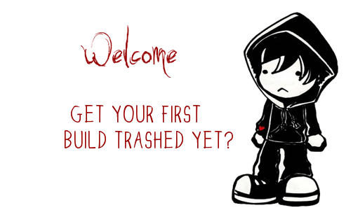 Little emo kid welcome for chaos