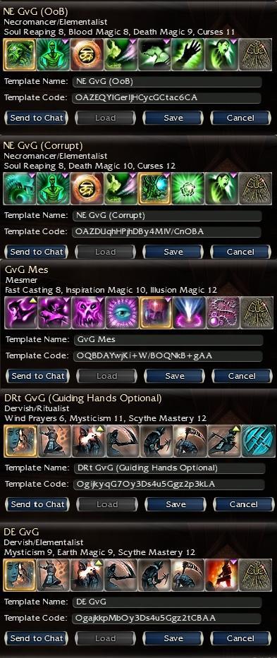 Darks old GvG guilds Build k