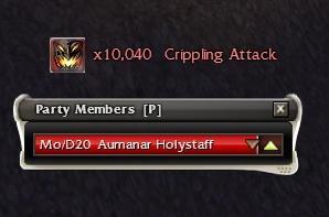 Crippling Attack spam