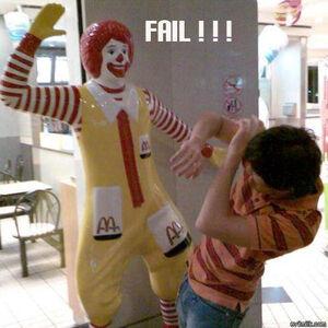 Ronald mc failure