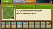 Vacuum Flower - Scrapped Plant - Plants Vs. Zombies- Space & Time. Hacked in PvZ2 with Vacuum-shroom as name.